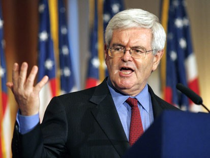 newt gingrich images. Newt Gingrich: Impeach judges