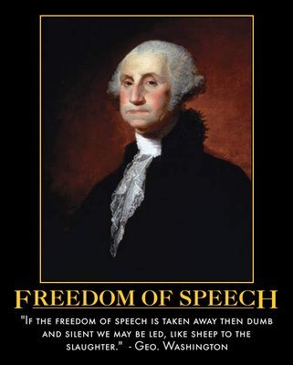 George Washington-Freedom of Speech